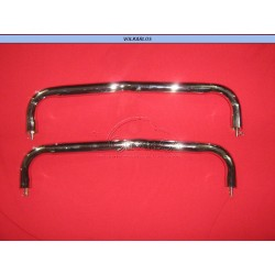 BARANDALES DEFENSA TRASERA CROMADOS VW SEDAN 60-69 OEM