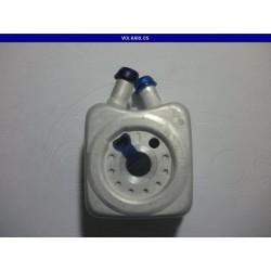 RADIADOR ACEITE C/LIGA (DOBLE ORIFICIO) A4/A5/BEELTE 2.0