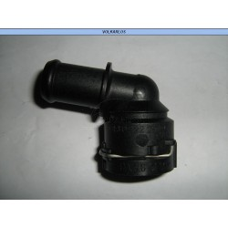 TOMA RADIADOR DEFROSTER 1 SALIDA (ANGULO 90°) GOLF JETTA A4, BEETLE