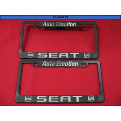 PORTA PLACA SEAT AUTO EMOTION