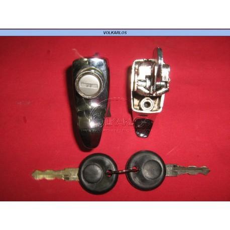CHAPA TAPA MOTOR 1 TORN. CROM. VW 1.6 74-04