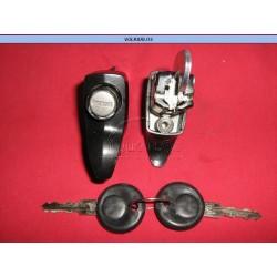 CHAPA TAPA MOTOR 1TORN. NEGRA VW 73-04