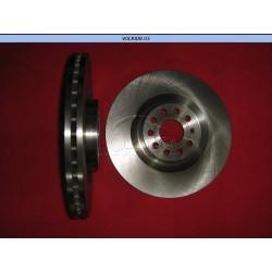 DISCO DELANTERO VENTILADO SEAT LEON 2.0 TFSI (09-12), GTI (06-13), PASSAT 3.2-3.6 TFSI (05-11)